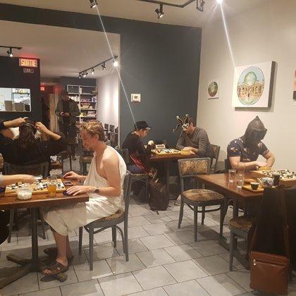 Halloween event / Montreal Go club 'Senthe'